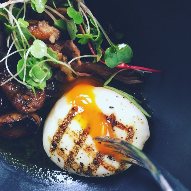 Duck Confit Poached Egg