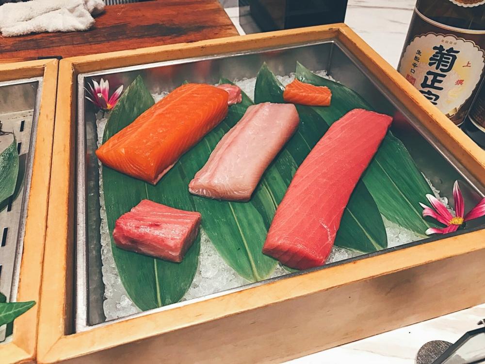 Sashimi at Andaz Shanghai