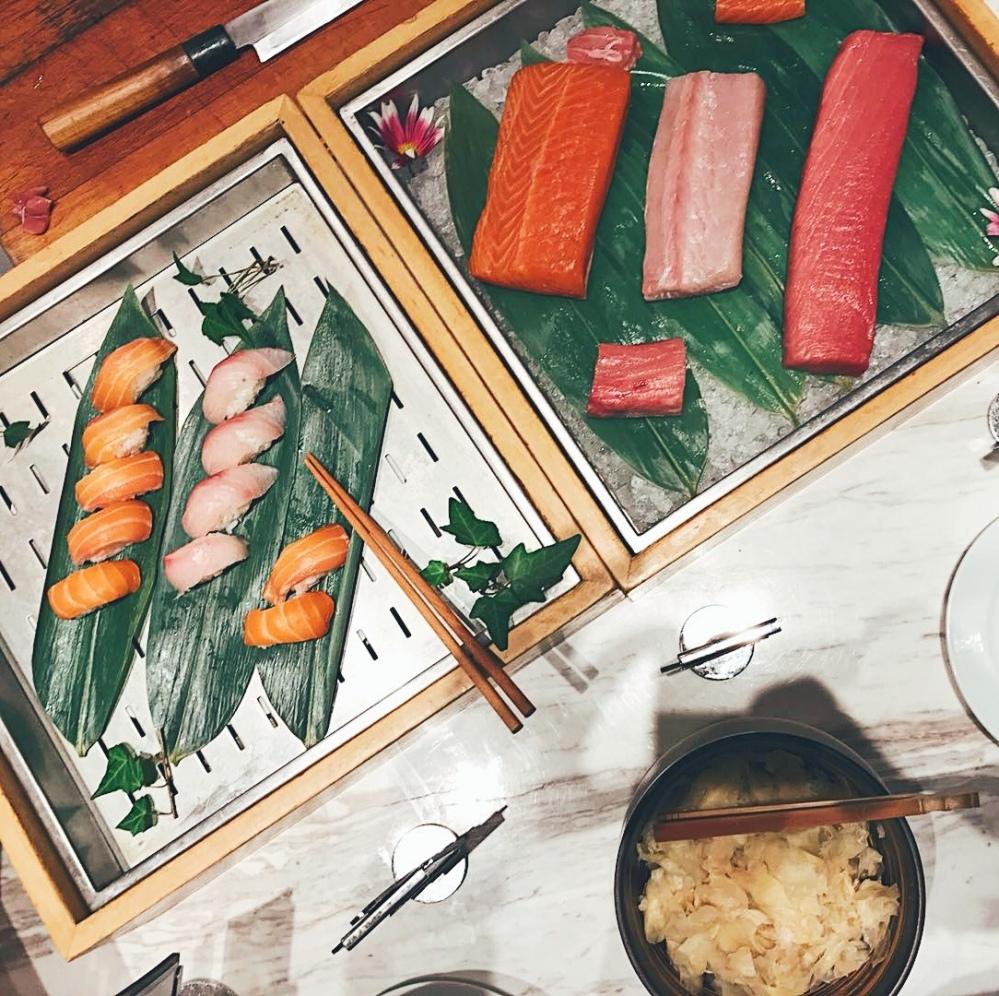 Sushi and Sashimi at Andaz Shanghai