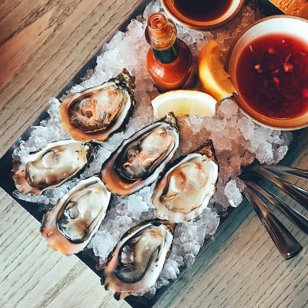 Fine de Claire Oysters at The Nest