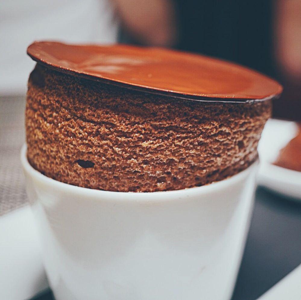 Chocolate Souffle Ekkebus