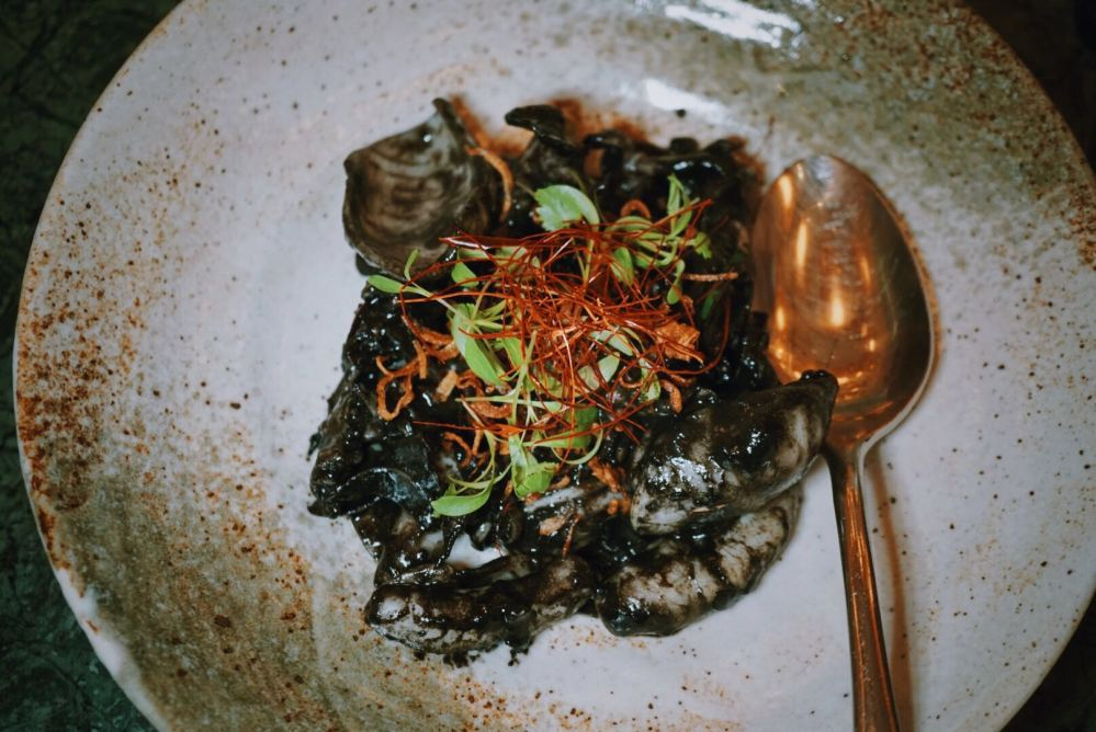 Assam Sotong Hitam Candlenut Peranakan Restaurant Singapore