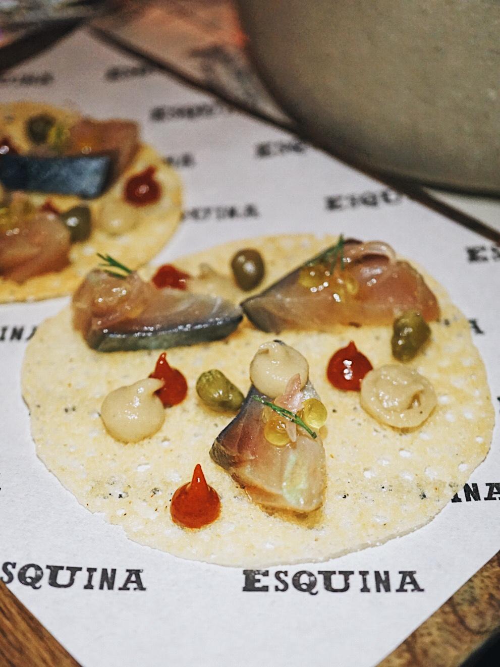 Atlantic Mackerel Esquina Singapore Spanish Restaurant