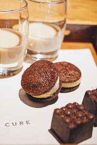 Guinness Ice-cream cookies CURE Restaurant Singapore